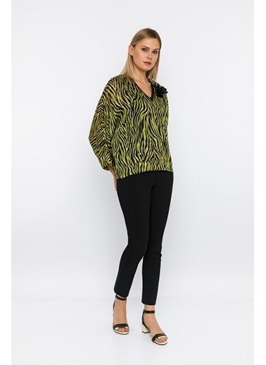 Berr-in  Kenzie Bluz Yeşil